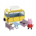 Игровой набор Peppa - ВЕСЕЛЫЙ КЕМПИНГ (автобус, фигурка Пеппы), 15561