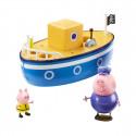 Игровой набор Peppa - МОРСКОЕ ПРИКЛЮЧЕНИЕ (кораблик, 2 фигурки), 05060