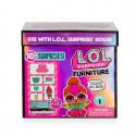 Игровой набор с куклой L.O.L. SURPRISE! - СТИЛЬНЫЙ ИНТЕРЬЕР ЛЕДИ-НЕОН, 561743