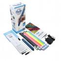 3D-ручка 3Doodler Create PLUS для проф. использования - СИНЯЯ (75 cтержней, аксессуары), 8CPSBEEU3E