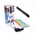 3D-ручка 3Doodler Create для проф. использования - ЧЕРНАЯ (50 стержней из ABS-пластика, аксессуары),