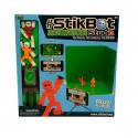 Игровой набор для анимационного творчества STIKBOT S1 – СТУДИЯ Z-SCREEN (2 экскл. фиг.,штатив,сцена)