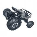 Автомобиль OFF-ROAD CRAWLER на р/у – ROCK (серебристый, метал. корпус, 1:18), SL-111RHS