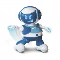 Интерактивный робот DISCOROBO – ЛУКАС (танцует, озвуч. укр. яз., синий)