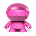 Акуст. стереосистема XOOPAR - XBOY GLOW(12cm,роз.,Bluetooth,MP3/SD-карт,микроф.,аудио&USB-каб.,LED),
