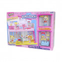 Игровой набор НAPPY PLACES S1 – СЧАСТЛИВЫЙ ДОМ (дом, кукла, 9 петкинсов)